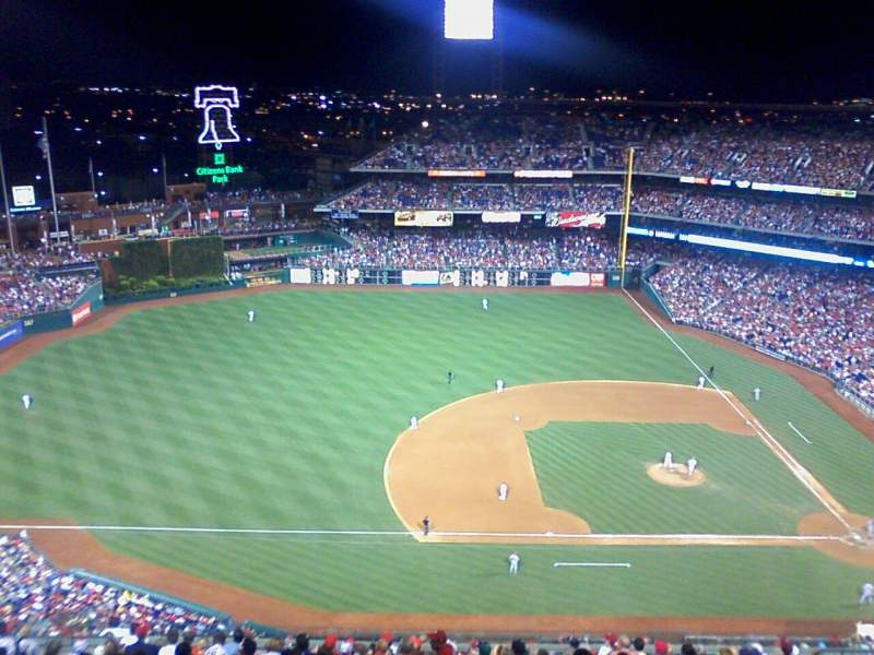 Seating view for Citizens Bank Park Section 428 Row 5 Seat 7