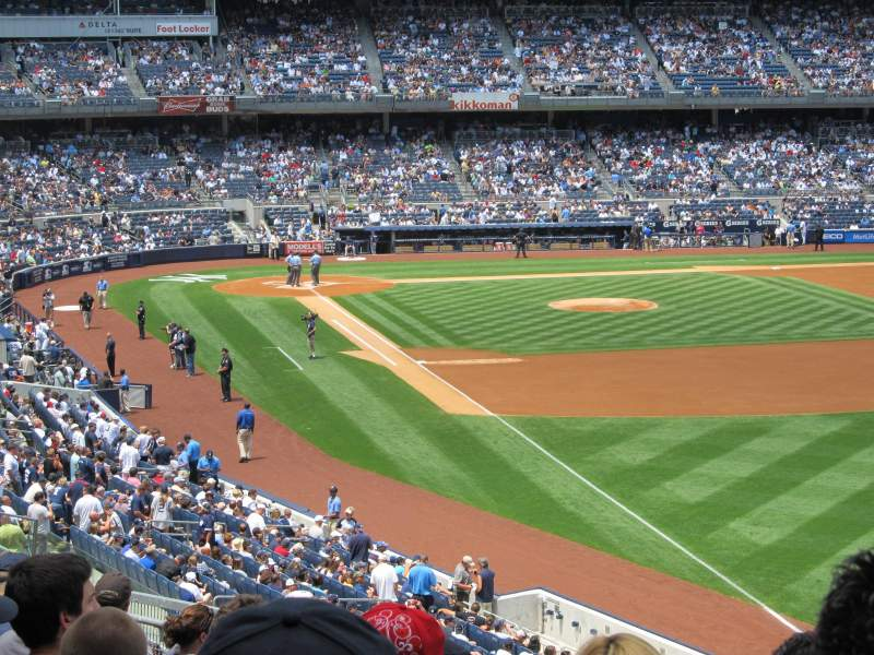 Seating view for Yankee Stadium Section 209 Row 10 Seat 5