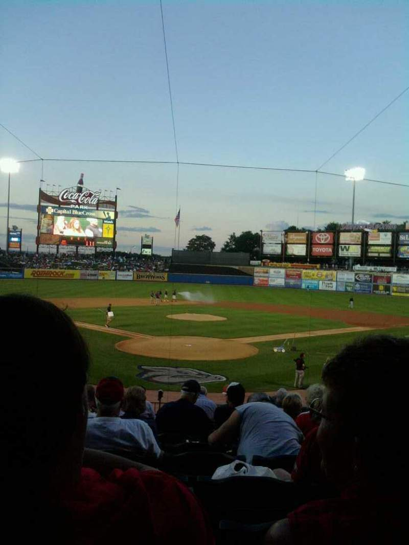 Seating view for Coca-cola Park Section 112 Row x Seat 10