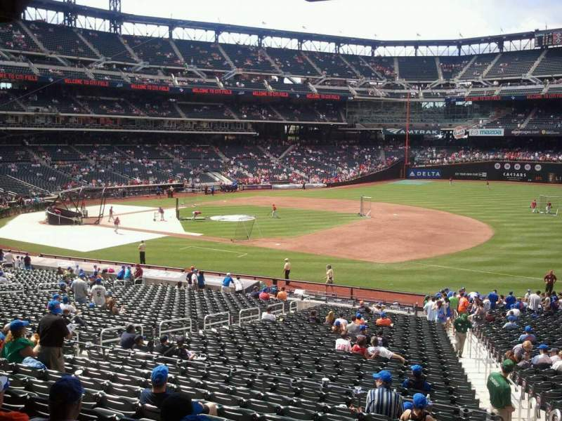 Seating view for Citi Field Section 111 Row 32 Seat 15