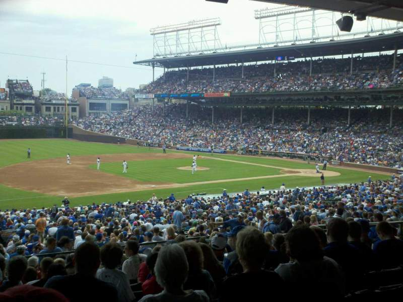 Seating view for Wrigley Field Section 209 Row 11 Seat 1