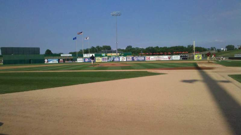 Seating view for Neuroscience Group Field at Fox Cities Stadium