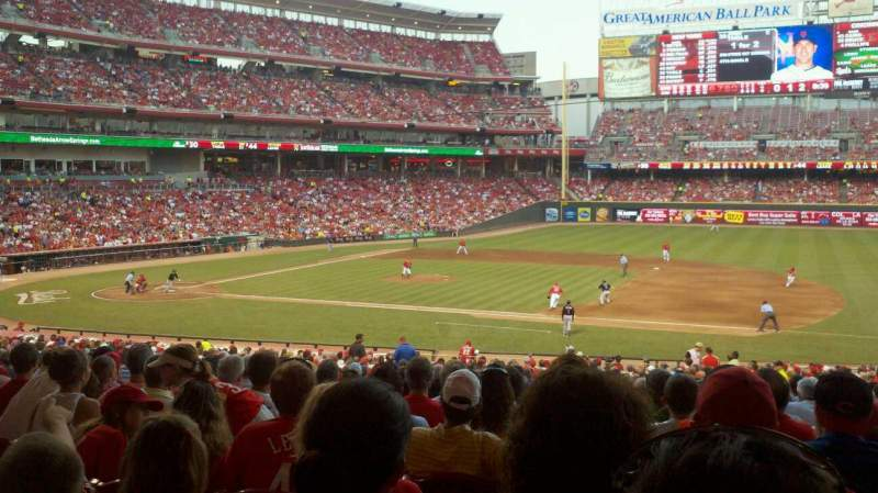 Great American Ball Park, section: 131, row: mm, seat: 9