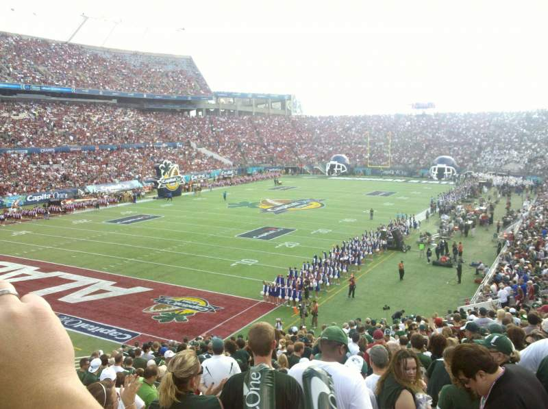 Seating view for Camping World Stadium Section 237 Row F Seat 7