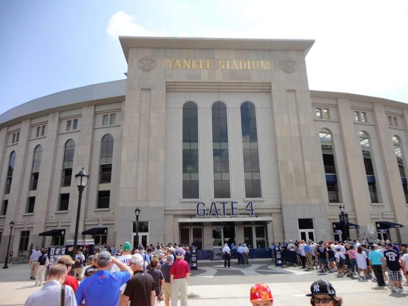 Seating view for Yankee Stadium Section Gate 4