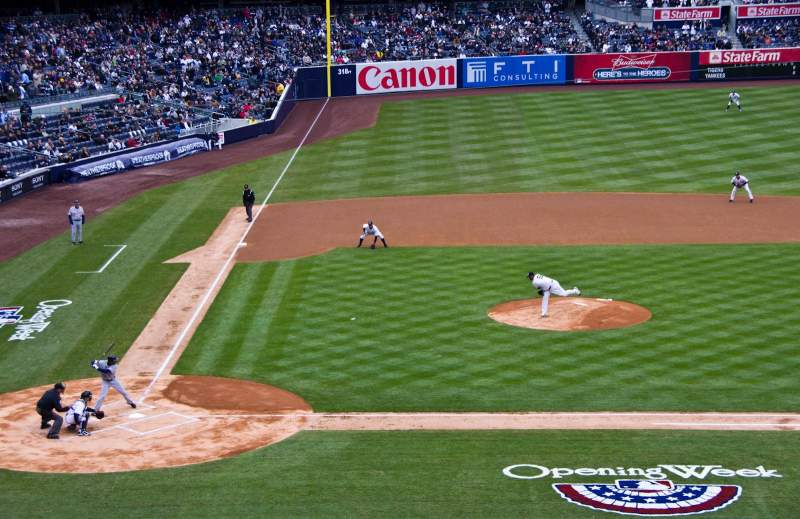 Seating view for Yankee Stadium Section 217 Row 10 Seat 9