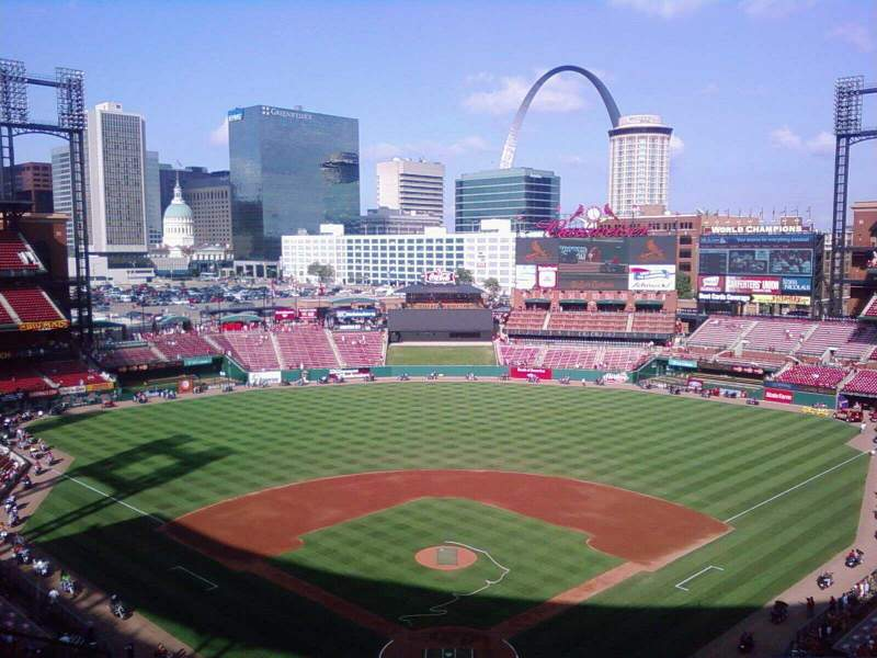 Seating view for Busch Stadium Section 450 Row 10 Seat 13