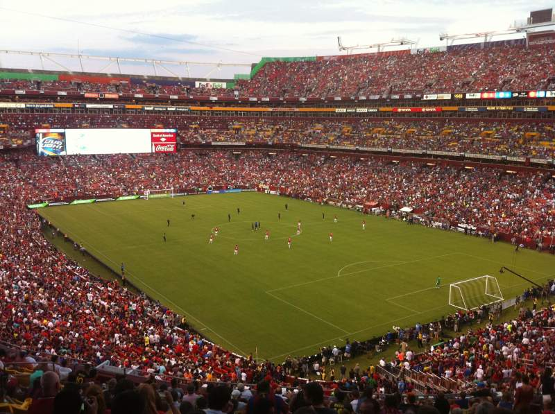 FedEx Field, section: 315, row: 17, seat: 15