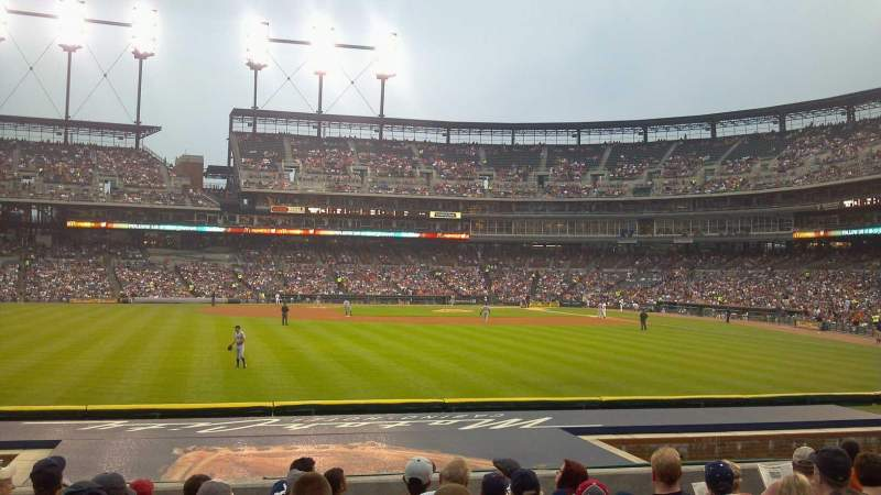 Seating view for Comerica Park Section 149 Row K Seat 15