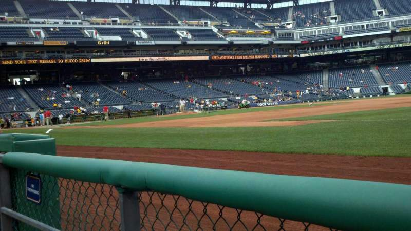 Seating view for PNC Park Section 6 Row a Seat 3