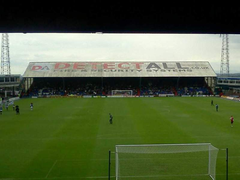 Boundary Park, section: away, row: aa, seat: 96