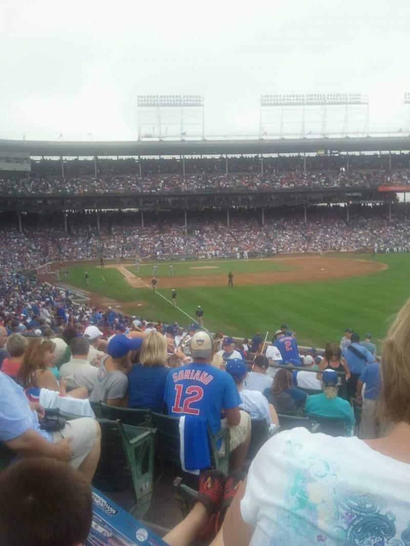 Seating view for Wrigley Field Section 242 Row 9 Seat 3