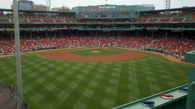 Seating view for Fenway Park Section BM