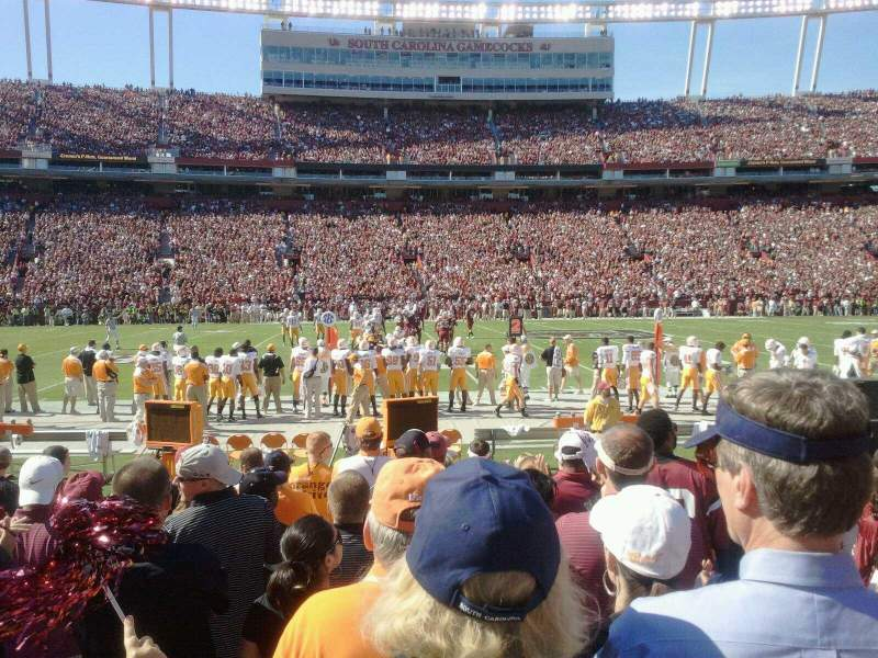 Seating view for Williams-Brice Stadium Section 20