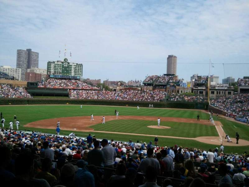 Seating view for Wrigley Field Section 213 Row 7 Seat 25