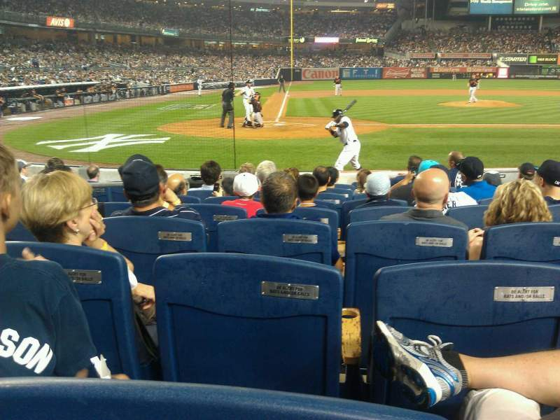 Seating view for Yankee Stadium Section 017B Row 9 Seat 7
