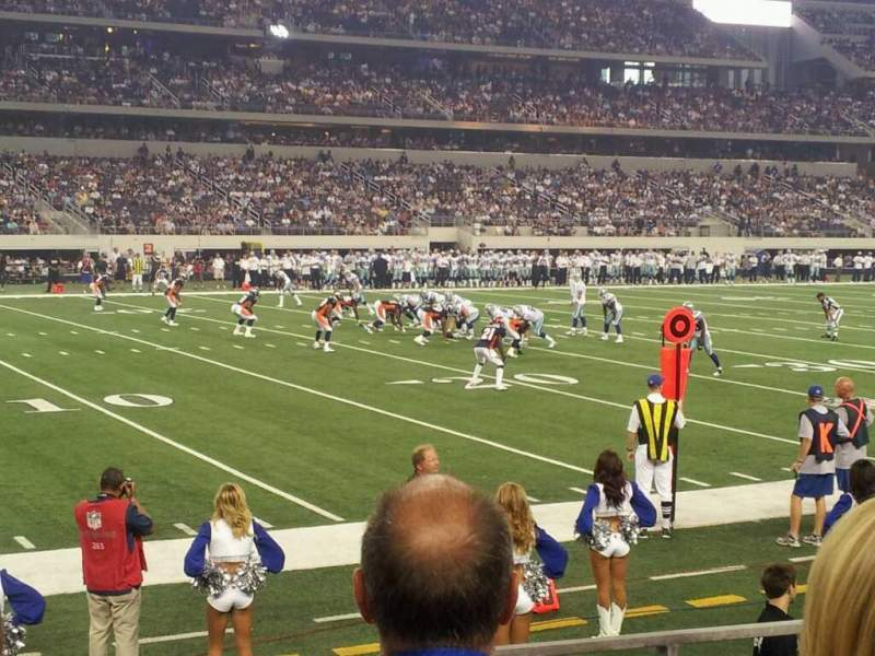 Seating view for AT&T Stadium Section 142 Row 3 Seat 7
