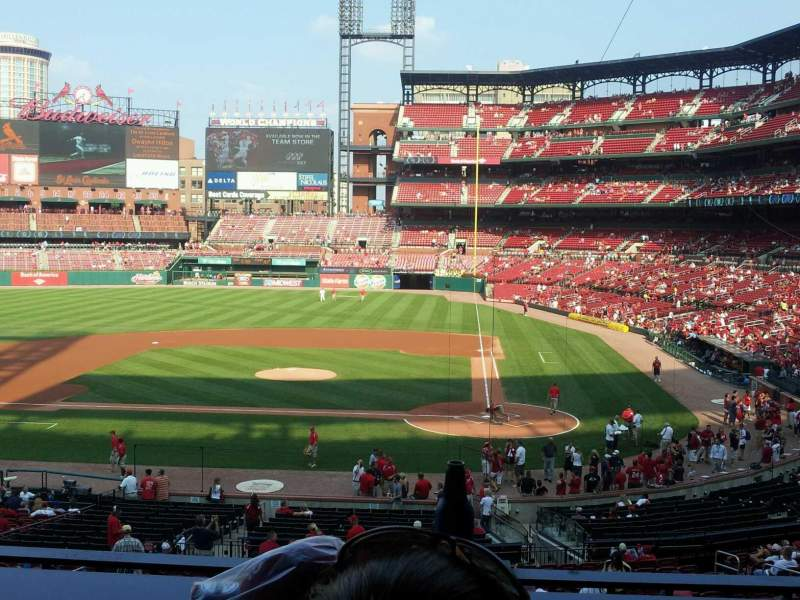 Seating view for Busch Stadium Section Suite 54 Row 2 Seat 1