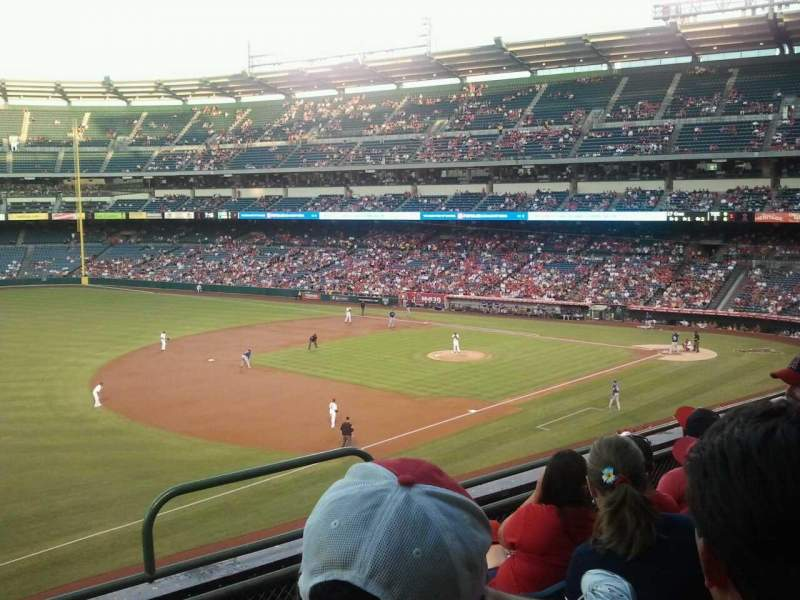 Seating view for Angel Stadium Section C311 Row D Seat 10
