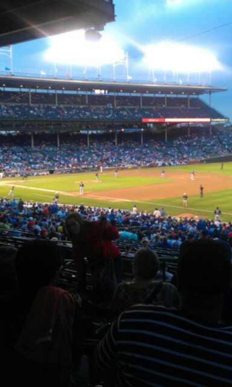 Seating view for Wrigley Field Section 237 Row 11 Seat 104