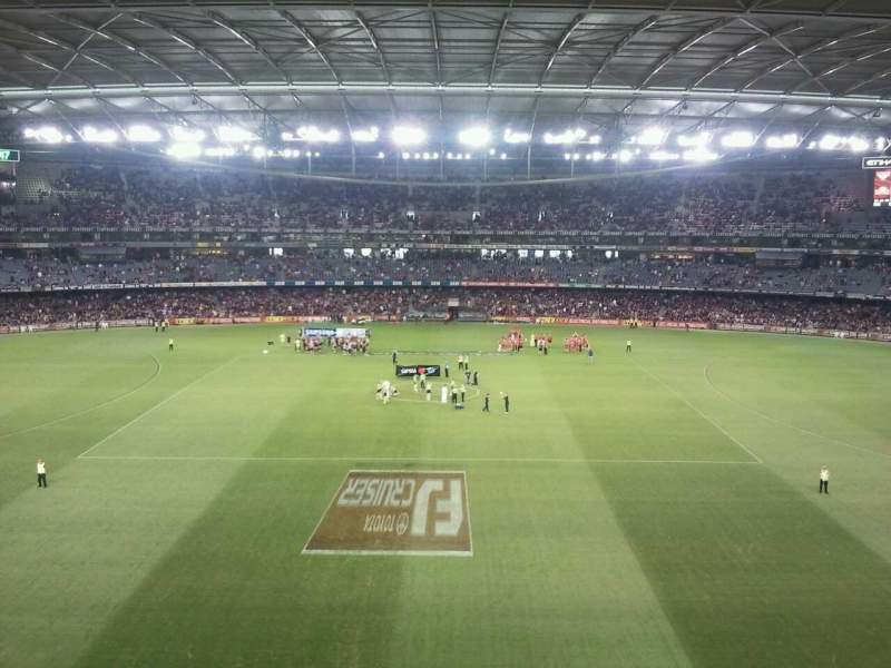 Seating view for Etihad Stadium (Melbourne) Section 37 Row B