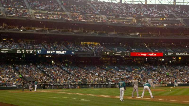 Seating view for Safeco Field Section 118 Row 3 Seat 5