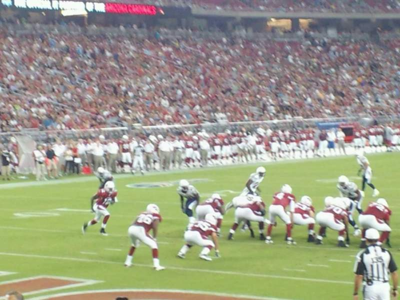 Seating view for University of Phoenix Stadium Section 139 Row 8 Seat 4