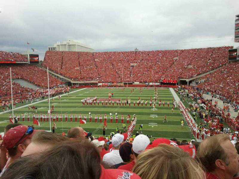 Seating view for Memorial Stadium Section 35 Row 43 Seat 11