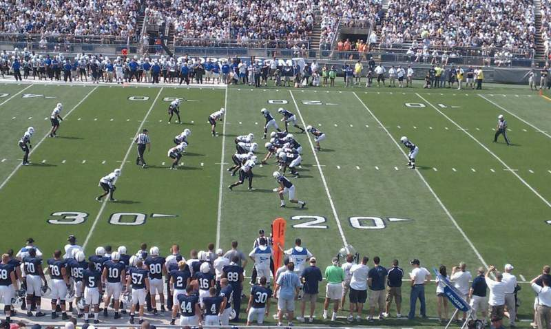 Seating view for Beaver Stadium Section EG Row 23 Seat 30