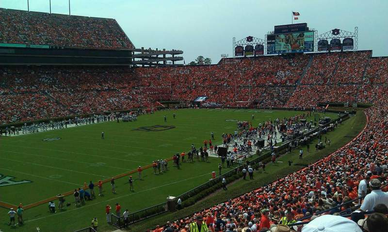 Seating view for Jordan-Hare Stadium Section 46 Row 40 Seat 36