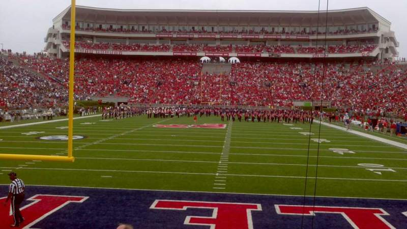 Seating view for Vaught-Hemingway Stadium Section 103 Row 7 Seat 16