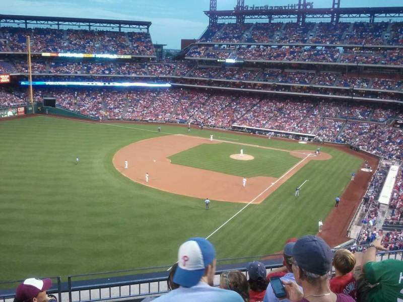 Seating view for Citizens Bank Park Section 321 Row 5