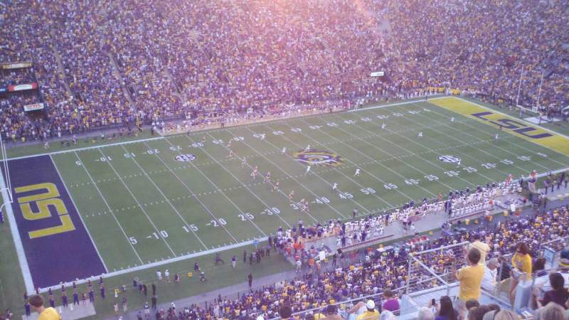Seating view for Tiger Stadium Section 640