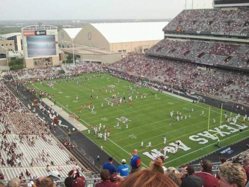 Seating view for Kyle Field Section 157