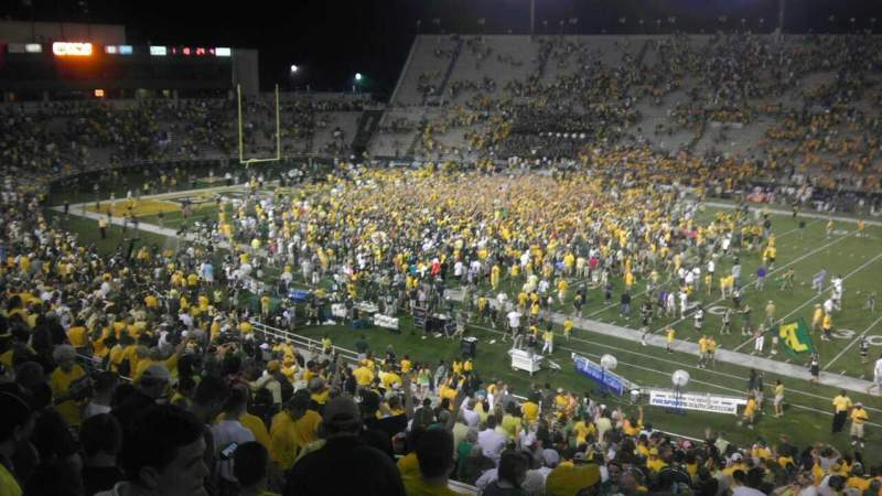 Seating view for Floyd casey Stadium Section D Row 45 Seat 21