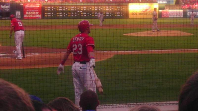 Seating view for Globe Life Park in Arlington Section 30 Row 8 Seat 7 and 8