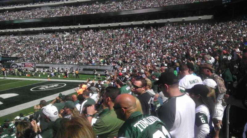 Seating view for MetLife Stadium Section 128 Row 14 Seat 10