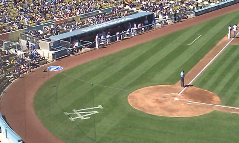 Seating view for Dodger Stadium Section 16RS Row D Seat 10