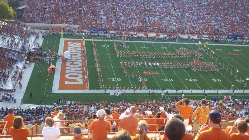 Seating view for Texas Memorial Stadium Section 131 Row 16 Seat 15