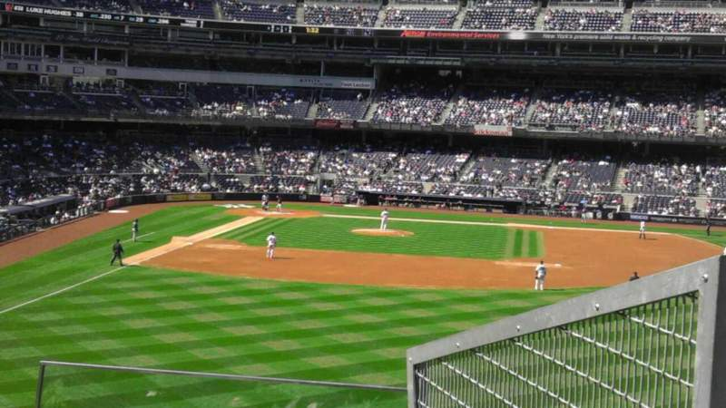 Seating view for Yankee Stadium Section 205 Row 4 Seat 5