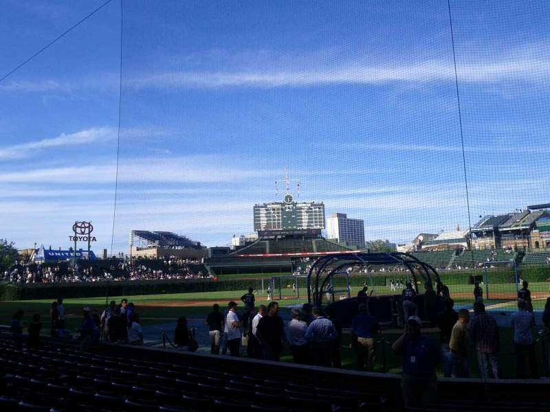 Seating view for Wrigley Field Section 18 Row 11 Seat 4