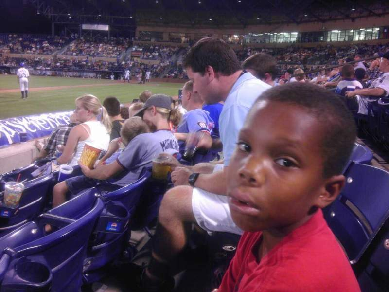 Seating view for Durham Bulls Athletic Park