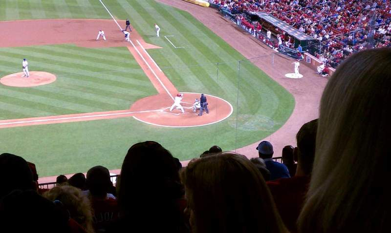 Seating view for Busch Stadium Section 255 Row 12 Seat 10