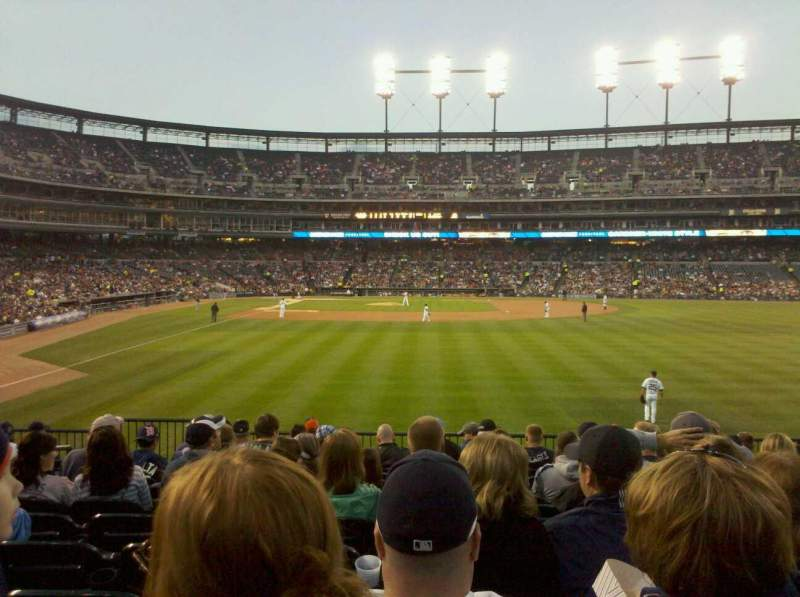 Seating view for Comerica Park Section 105 Row M Seat 16