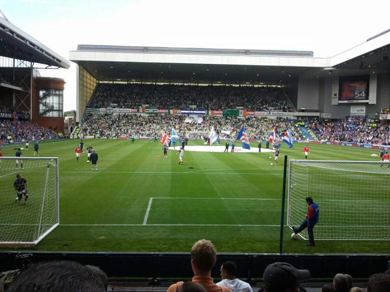 Seating view for Ibrox Park Section cop Row j Seat 102