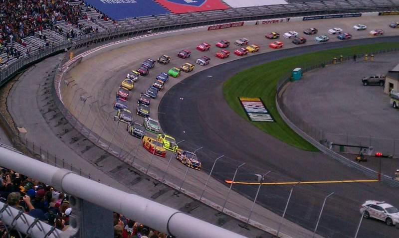 Seating view for Dover International Speedway Section 125 Row 31 Seat 9