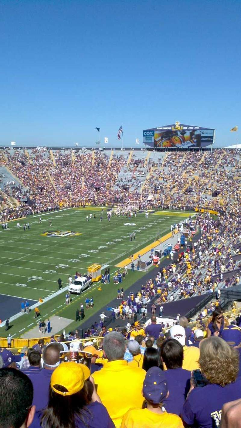 Seating view for Tiger Stadium Section 414 Row 36 Seat 9