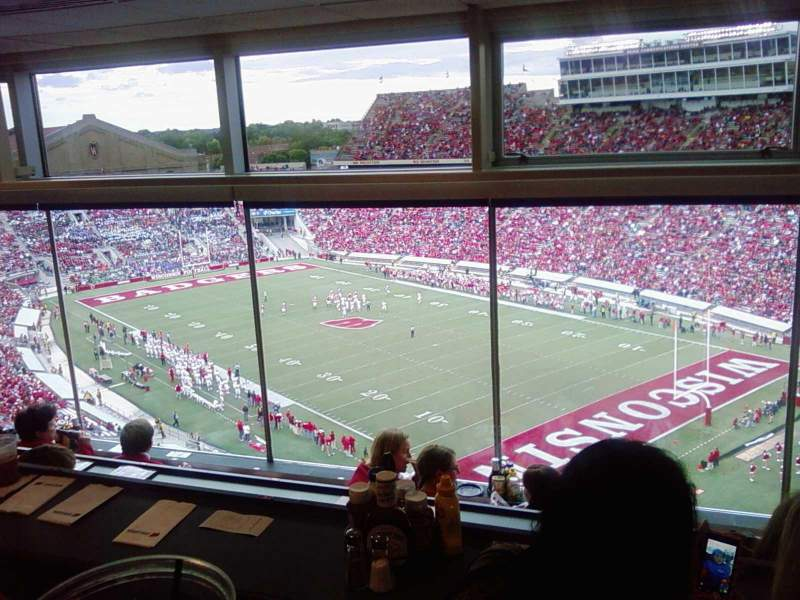 Seating view for Camp Randall Stadium Section vc Row 4 Seat 8