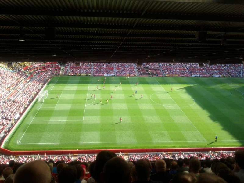 Seating view for Old Trafford Section N4402 Row 13 Seat 189