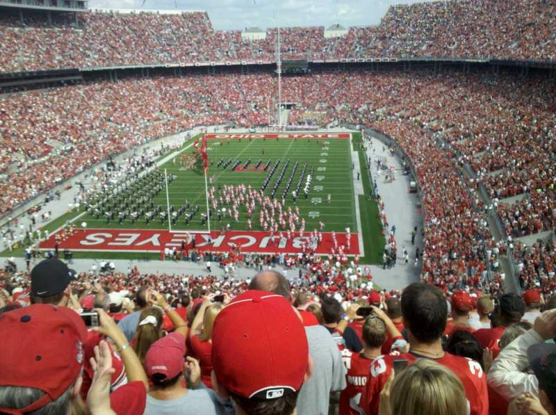 Seating view for Ohio Stadium Section 38B Row 31 Seat 5
